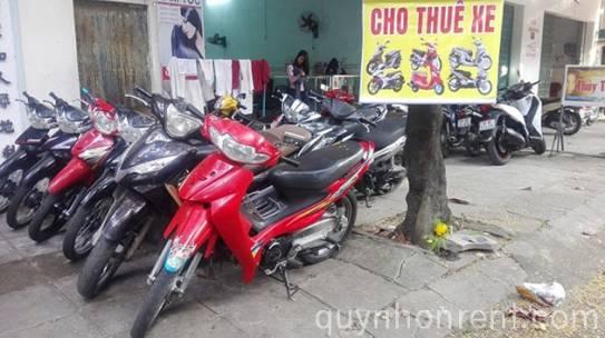 Top địa điểm cho thuê xe máy uy tín ở Quy Nhơn – Bình Định