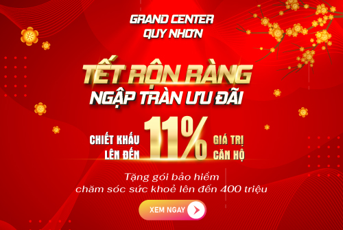 Sale Grand Center Quy Nhơn