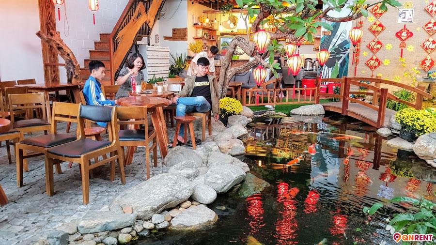 Cafe cá Koi Quy Nhơn