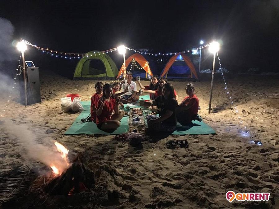 Cắm trại Cù Lao Xanh