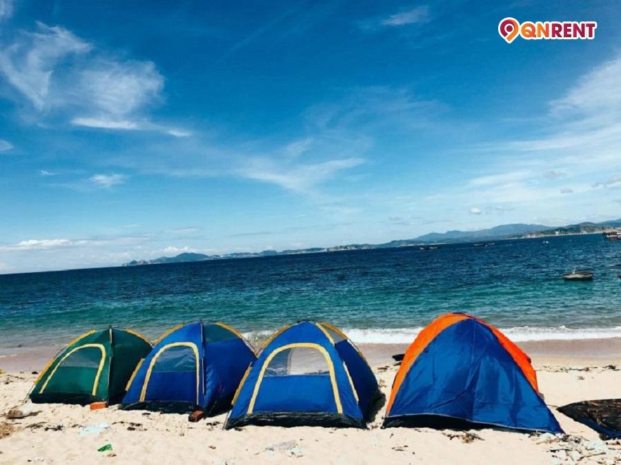 Cắm trại tại khu dã ngoại Cù Lao Xanh
