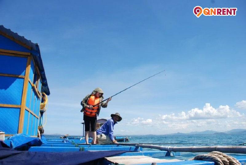 Câu cá ở Hòn Khô