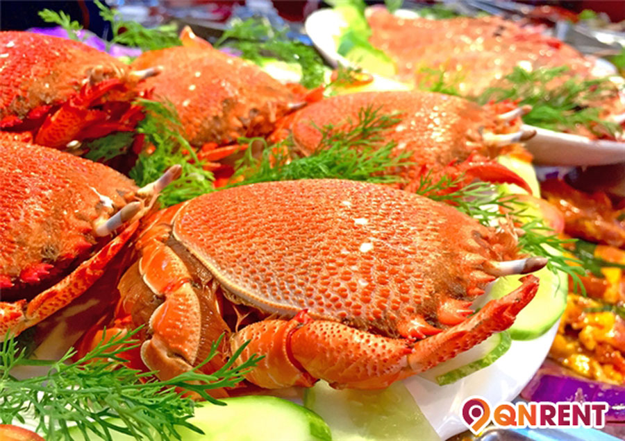 Hải sản ở Trung Lương