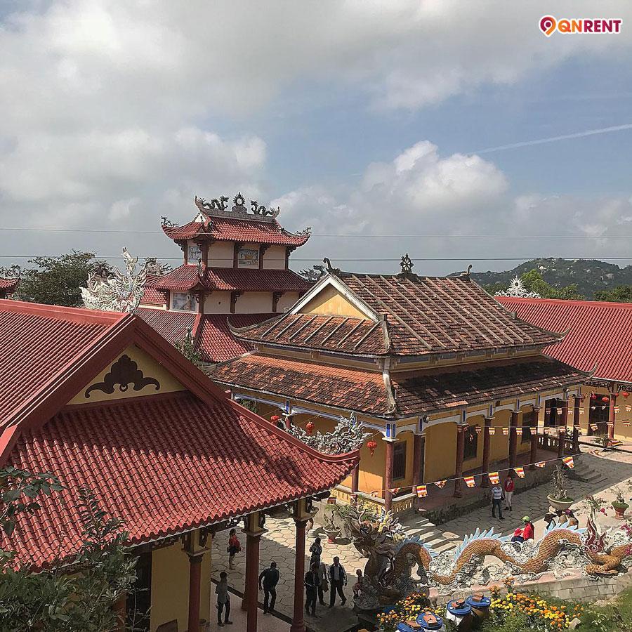 Kiến trúc phần mái chùa Ông Núi