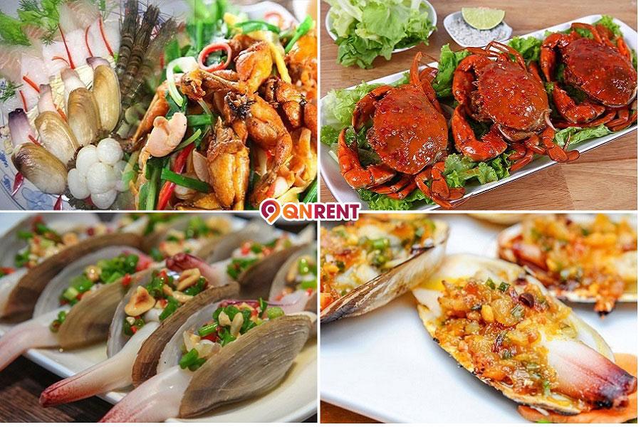 Món ăn hải sản Quy Nhơn