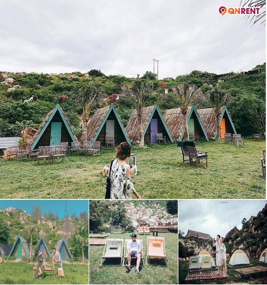 Sống ảo tại khu dã ngoại Trung Lương