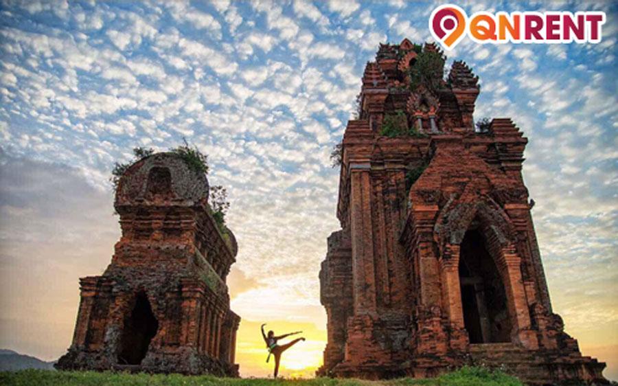 Tháp Đôi Quy Nhơn Bình Định