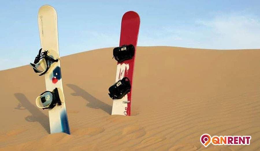 Thú vui trượt cát