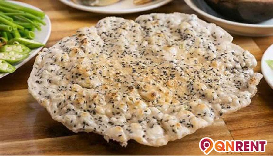 Bánh tráng nước dừa Tam Quan