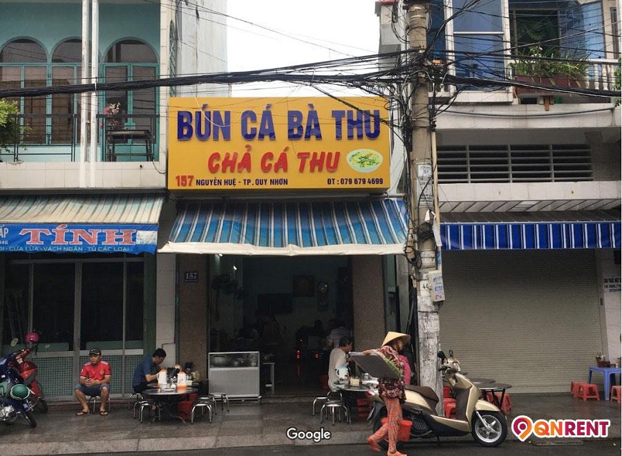 Quán bún cá Bà Thu Quy Nhơn