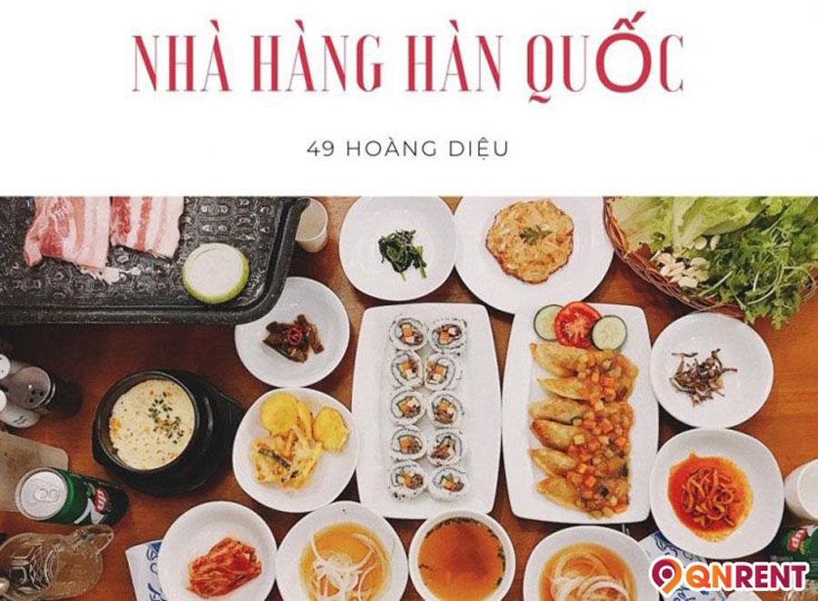 Mì cay nhà hàng Hàn Quốc – 49 Hoàng Diệu